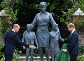 inauguração da estátua Diana