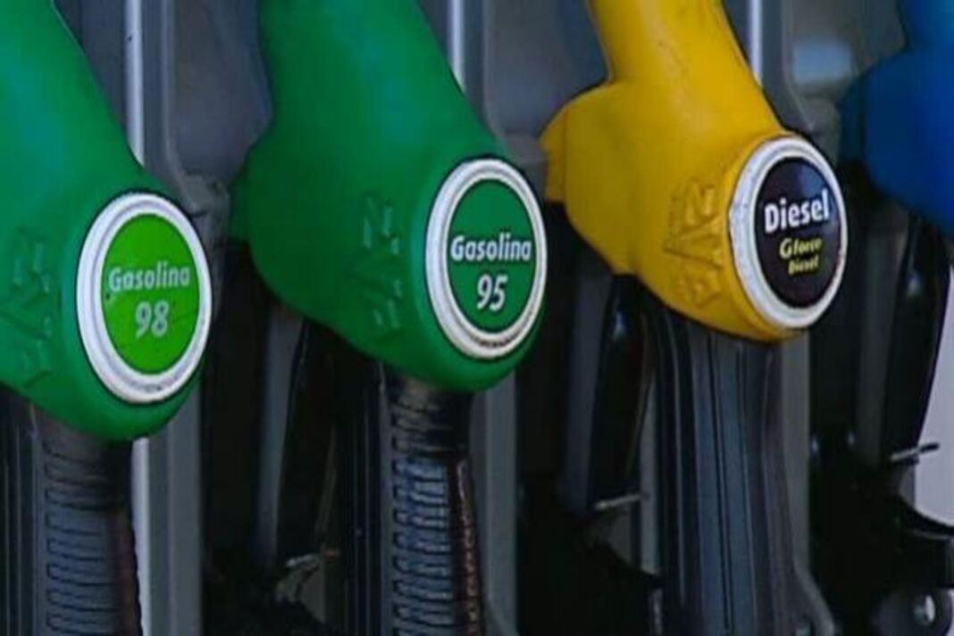 Gasolina e gasóleo descem