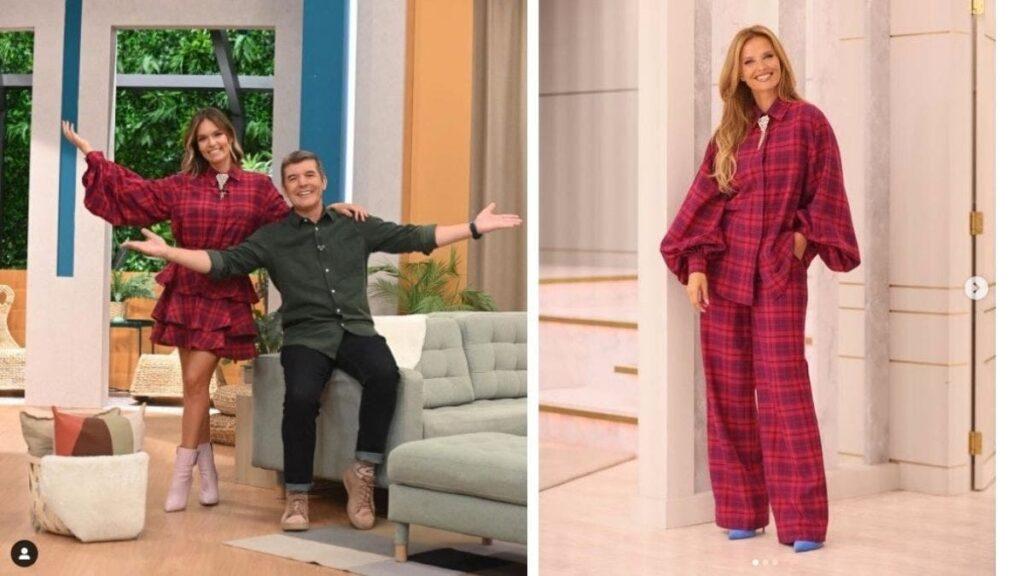 Cristina Ferreira e Diana Chaves estiveram vestidas de igual no mesmo dia. Já tem sido recorrente apresentadores usarem a mesma indumentária