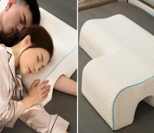 almofada para dormir conchinha
