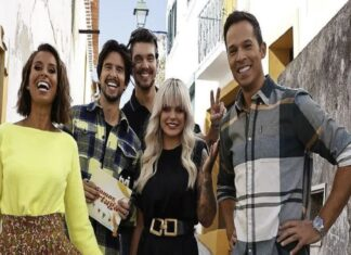 """Apresentadores do """"Somos Portugal"""""""